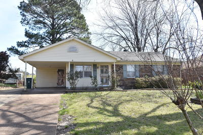 Southaven MS Single Family Home For Sale: $112,000