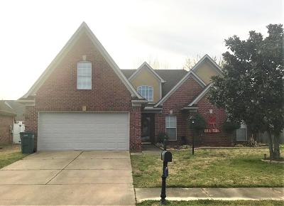 Southaven MS Single Family Home For Sale: $208,900