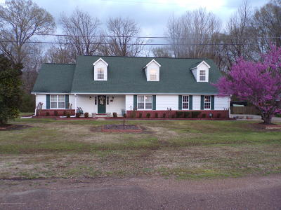 Tate County Single Family Home For Sale: 107 Fairway Drive