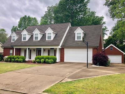 Tate County Single Family Home For Sale: 117 Keestone Drive