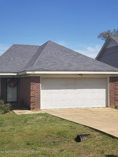 Tate County Single Family Home For Sale: 150 Flower Circle