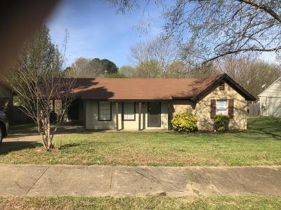 Horn Lake Single Family Home For Sale: 6365 Cornwall Road