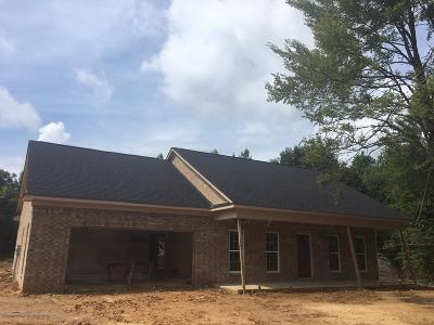 Tate County Single Family Home For Sale: 16 Clover Cove