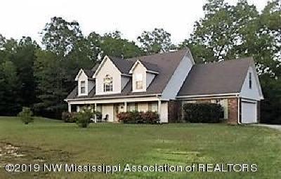 Byhalia Single Family Home For Sale: 580 Fairview Trail