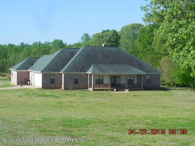 Tate County Single Family Home For Sale: 4596 Poagville Road