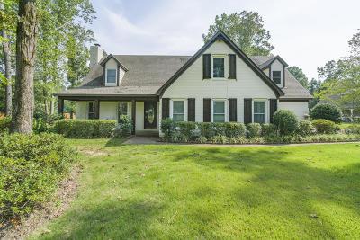 Byhalia Single Family Home Active/Contingent: 54 Oak Grove Drive