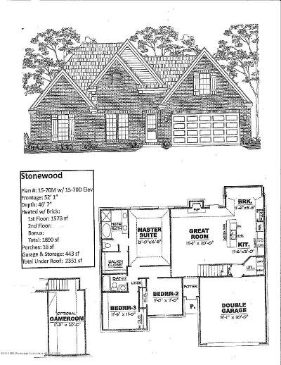 Southaven Single Family Home For Sale: 2628 N Dawnwood Circle
