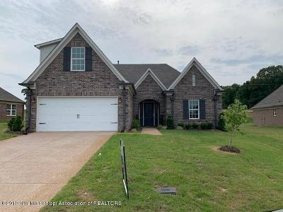 Southaven Single Family Home For Sale: 3653 Woodcutter Drive