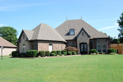 Olive Branch Single Family Home For Sale: 4854 Waterstone Drive