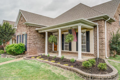 Olive Branch Single Family Home For Sale: 4568 Stone Cross Drive