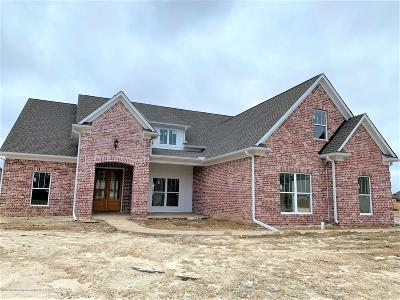 Olive Branch Single Family Home For Sale: 6711 Hawks View