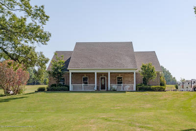 Byhalia Single Family Home Active/Contingent: 384 Moore Crossing