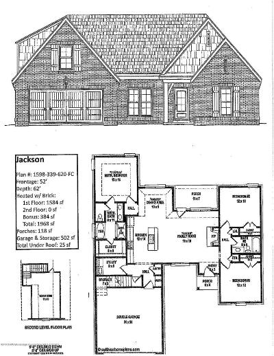 Southaven Single Family Home For Sale: 2619 N Dawnwood Circle