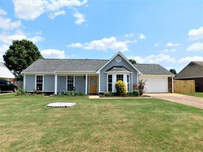 Horn Lake Single Family Home For Sale: 7100 Tudor Lane