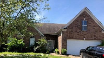 Southaven MS Single Family Home For Sale: $142,900