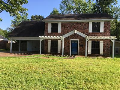 Southaven MS Single Family Home For Sale: $145,000
