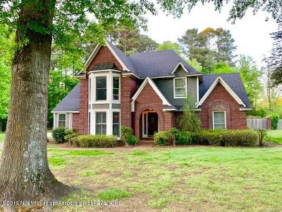Tate County Single Family Home For Sale: 117 Plum Point