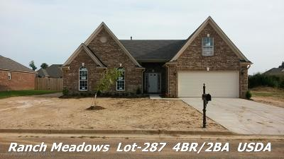 Walls Single Family Home For Sale: 7749 Purifoy Drive