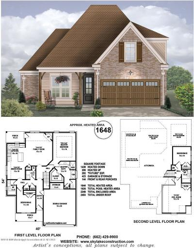 Desoto County Single Family Home For Sale: 3555 Marion Lane