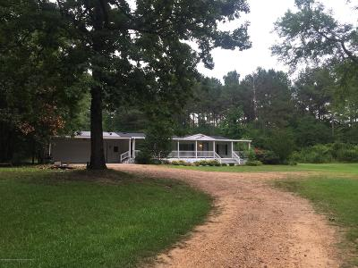 Tate County Single Family Home For Sale: 5149 Looxahoma-Tyro Road