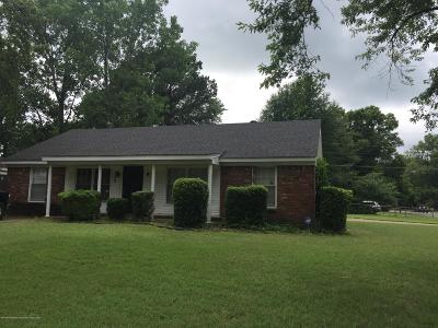 Southaven Single Family Home For Sale: 8525 Booneville Drive