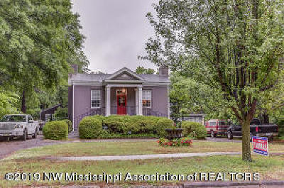 Holly Springs Single Family Home For Sale: 275 W Chulahoma Avenue