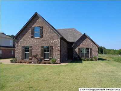 Desoto County Single Family Home For Sale: 4645 Spike Lane