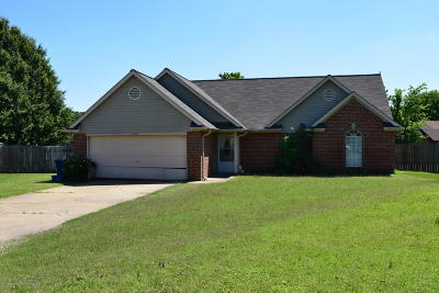 Olive Branch MS Single Family Home For Sale: $129,000