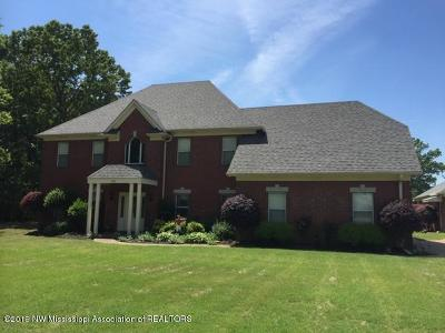 Olive Branch Single Family Home For Sale: 5507 Malone Road
