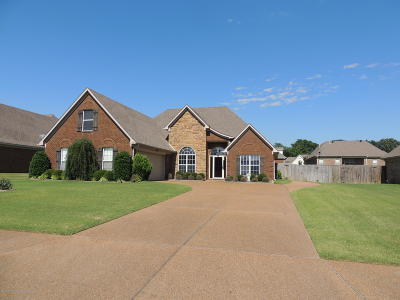 Desoto County Single Family Home For Sale: 1798 Manor Place Drive