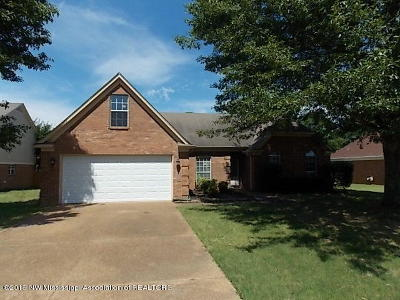 Desoto County Single Family Home For Sale: 6693 Crystal Drive