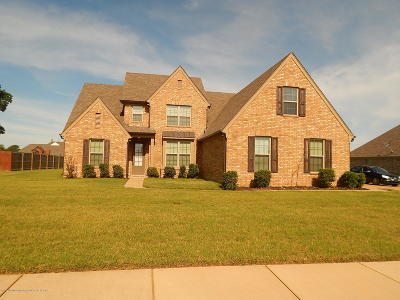 Olive Branch MS Single Family Home For Sale: $324,900