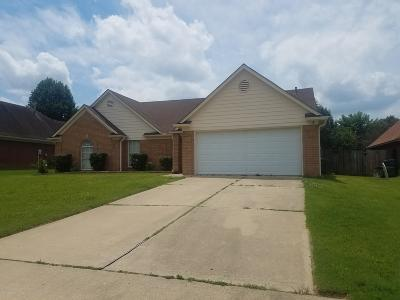 Southaven MS Single Family Home For Sale: $174,900