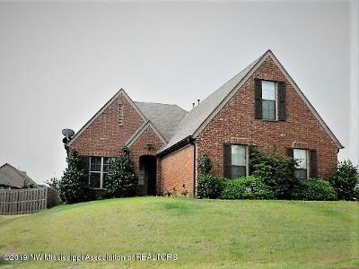 Olive Branch MS Single Family Home For Sale: $218,000