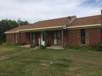 Coldwater MS Single Family Home For Sale: $134,500
