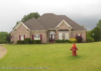 Tate County Single Family Home For Sale: 147 Lori Lane