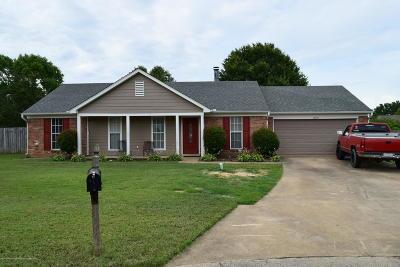 Desoto County Single Family Home For Sale: 10354 Palmer Cove