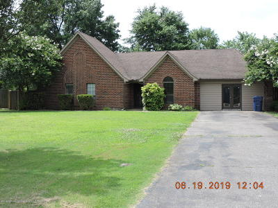 Horn Lake Single Family Home For Sale: 1941 Yorkhaven Dr