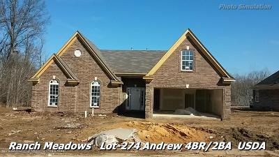 Walls Single Family Home For Sale: 7808 Purifoy Drive