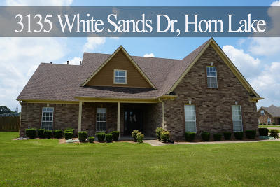 Horn Lake Single Family Home For Sale: 3135 White Sands Drive