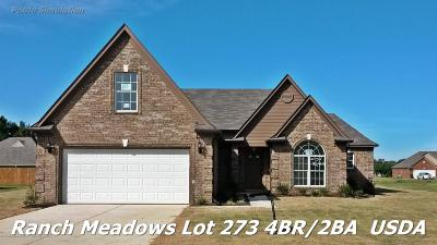 Walls Single Family Home For Sale: 7796 Purifoy Drive