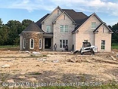 Desoto County Single Family Home For Sale: 11333 Cedar Point Cove