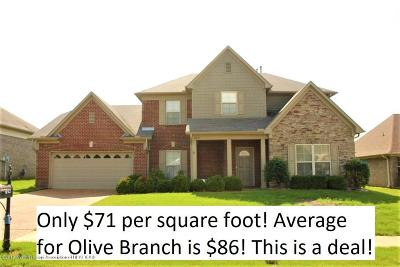 Desoto County Single Family Home For Sale: 7425 Carmon Drive