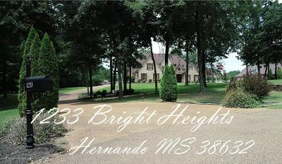 Hernando MS Single Family Home For Sale: $419,900