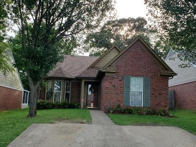 Southaven MS Single Family Home For Sale: $135,000