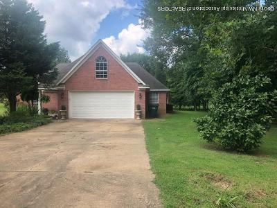 Southaven MS Single Family Home For Sale: $190,000