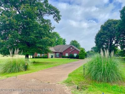 Tate County Single Family Home For Sale: 75 Shaker Drive
