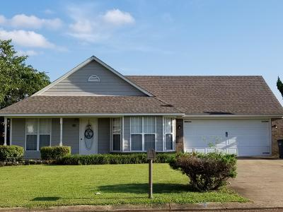 Tate County Single Family Home For Sale: 118 Pecan Drive
