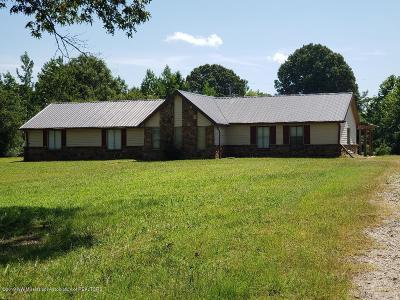 Tate County Single Family Home For Sale: 2340 Bett-Thyatira Road