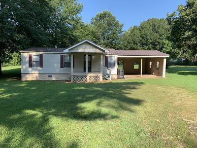 Tate County Single Family Home For Sale: 74 Rader Creek Road Road